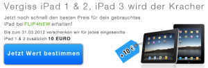 FLIP4NEW Apple iPad Frühlingsaktion