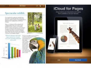Pages App fürs iPads