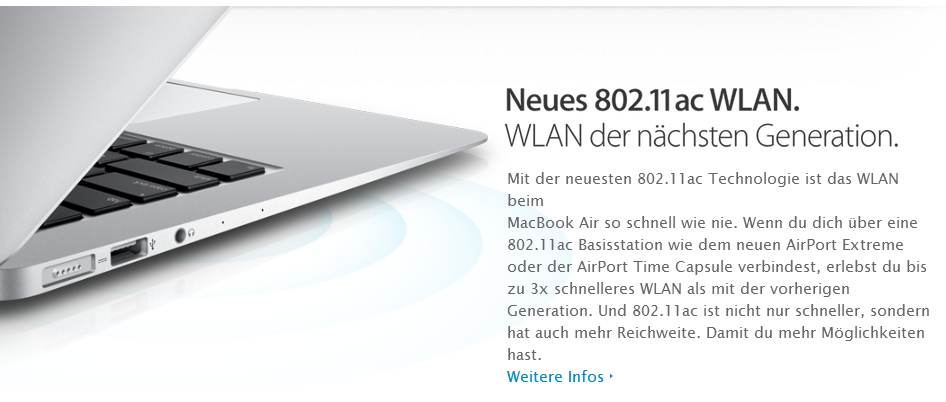Apple MacBook Air Wifi