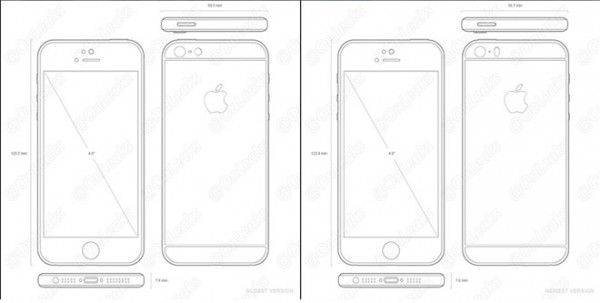 iPhone 5se Schema Skizze