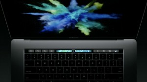 apple macbook pro touch bar oktober 2016