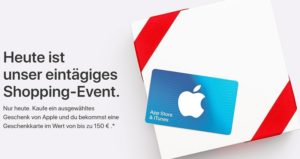 App Store Shopping Event