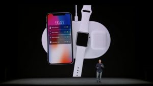 AirPower Apple induktive Ladematte